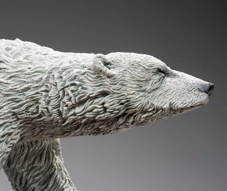 Polar Bear - Sculpture by Bernard & Arnaud Bessoud
