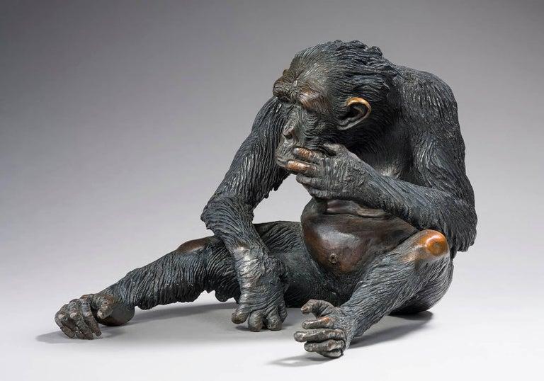 Bernard & Arnaud Bessoud  Figurative Sculpture - La Guenon