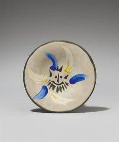 """Pablo Picasso Ceramic """"Petit Visage n°12"""""""