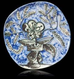 """Pablo Picasso Ceramic """"Vase au bouquet"""""""