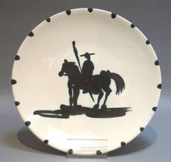 """Pablo Picasso Ceramic """"Picador"""""""