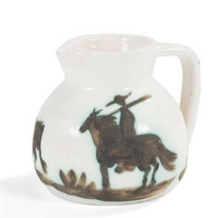 """Pablo Picasso Ceramic """"Taureau et Picador"""""""