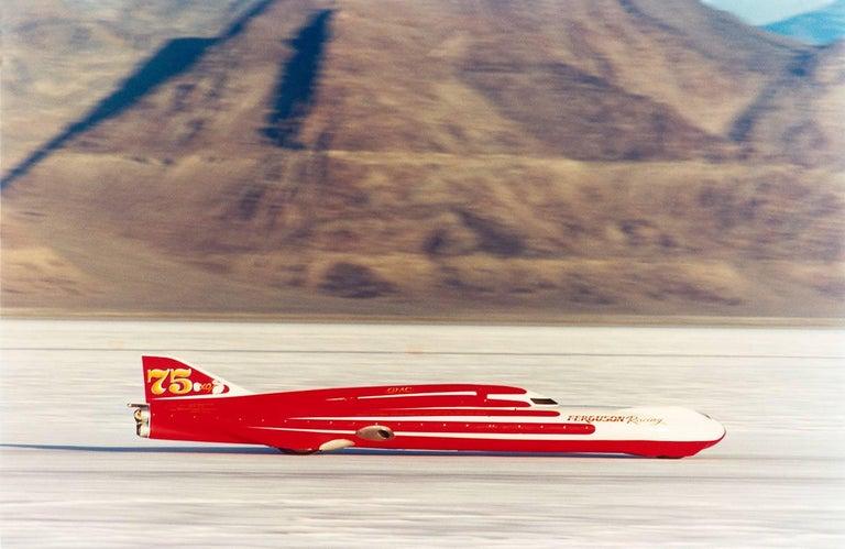 Richard Heeps - Ferguson Racing Streamliner, Bonneville, Utah 1