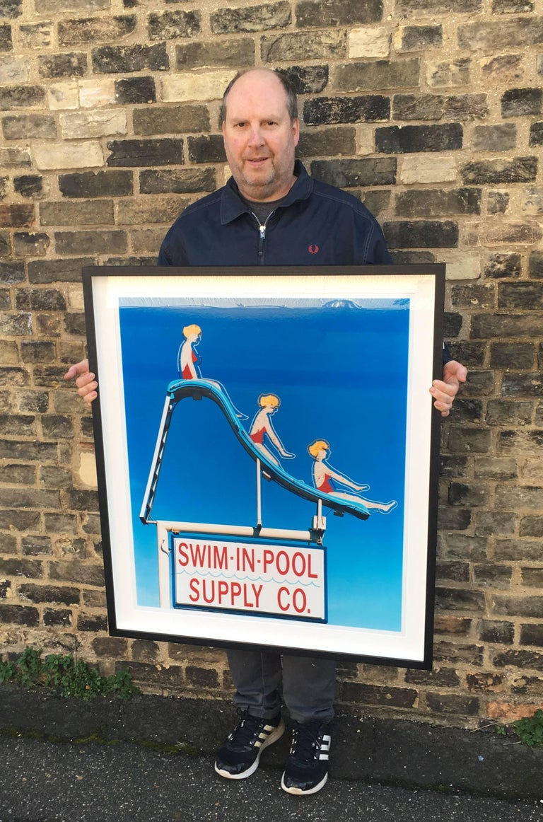 richard heeps swim in pool supply co las vegas photograph at 1stdibs