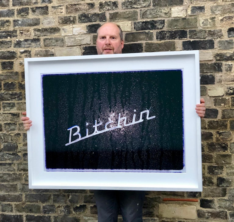 Part of Richard Heeps 'Man's Ruin' Series, this cool 'Bitchin' decal was shot at 4am at the Hemsby Rock 'n' Roll Weekender.  This artwork is a limited edition of 25, gloss photographic print, dry-mounted to aluminium, presented in an 8cm museum