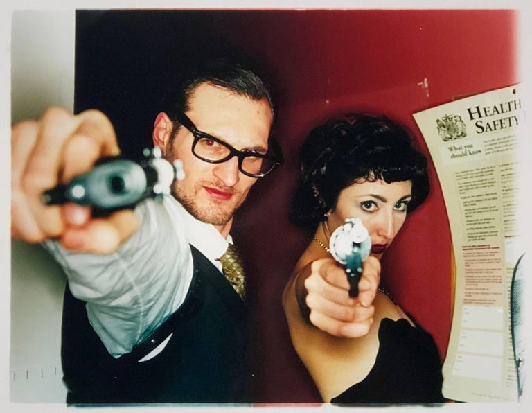 Richard Heeps Color Photograph - Michael & Delilah, The Whoopee Club, London