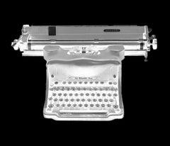 Orthochromatic Negative (Antique Olivetti Typewriter)