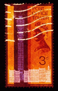Stamp Collection, 3d London (Orange)