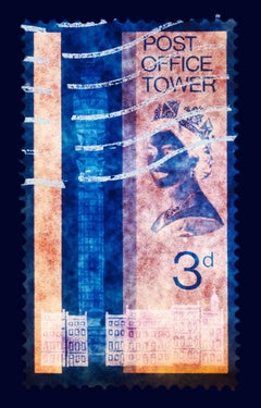 Stamp Collection, 3d London (Blue)