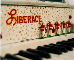 Liberace's Piano, Las Vegas - American Pop Art Color Photography