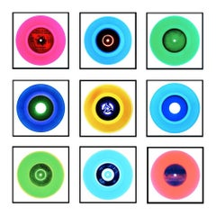 Vinyl Collection, Nine Piece B Side Installation (no.3)