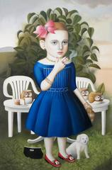 Amy Hill - Girl With Tea Set