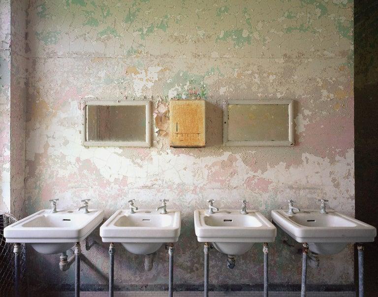 Phillip Buehler Figurative Photograph - 4 Sinks