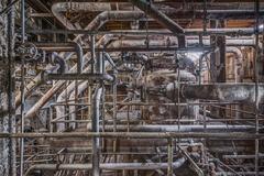 Boiler Pipes (Domino Sugar Factory - Williamsburg, Brooklyn)