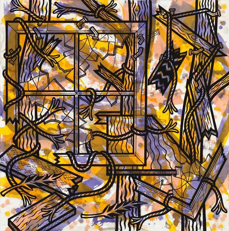 Jesse Lambert Abstract Drawing - View