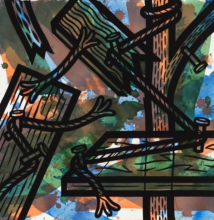 Jesse Lambert Abstract Drawing - Thread 1