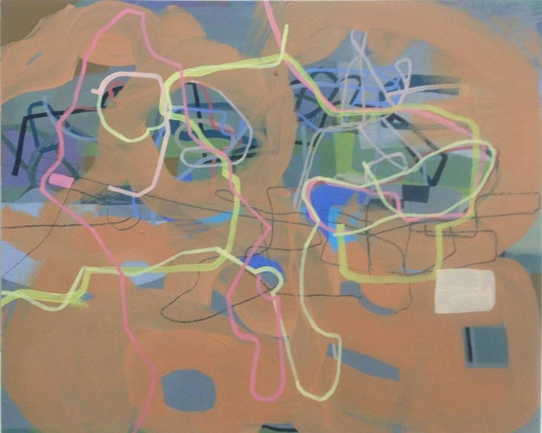 Mark Masyga Abstract Painting - People of the Future (what not to do)