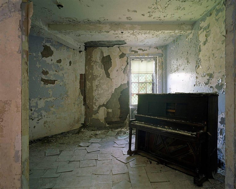 Phillip Buehler Color Photograph - Piano