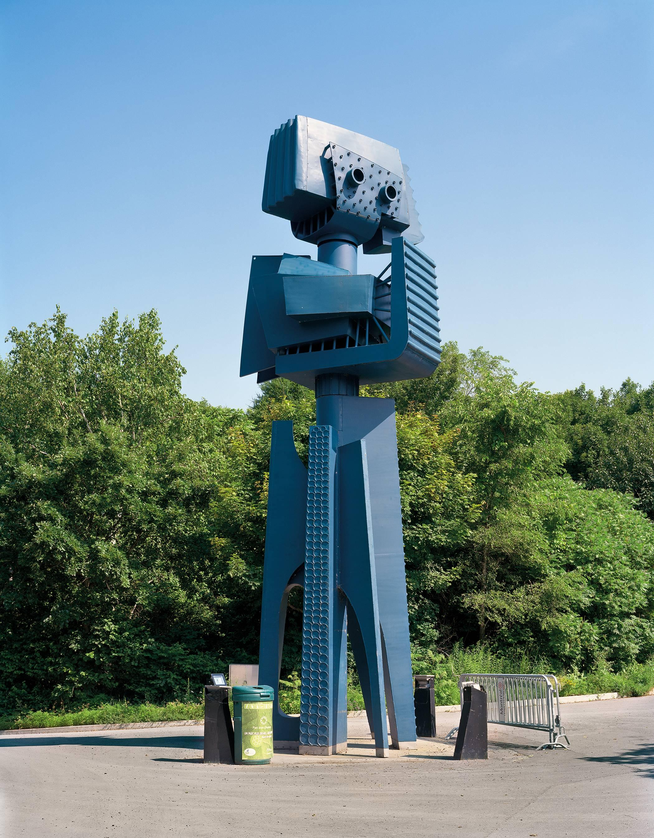 """Montreal 1967 World's Fair, """"Man and His World,""""  (Blue Robot)"""