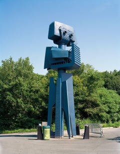 "Montreal 1967 World's Fair, ""Man and His World,""  (Blue Robot)"