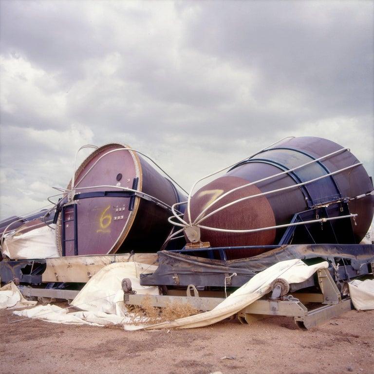 Phillip Buehler Figurative Photograph - Nuclear Warheads