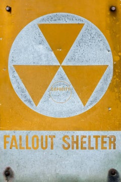 Fallout Shelter, archival dye-sub print on aluminum