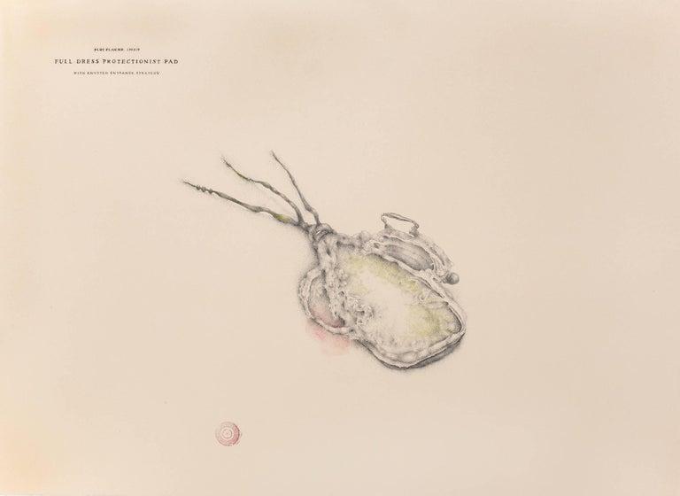 Patricia Smith Figurative Art - Plot Plan No. 170519