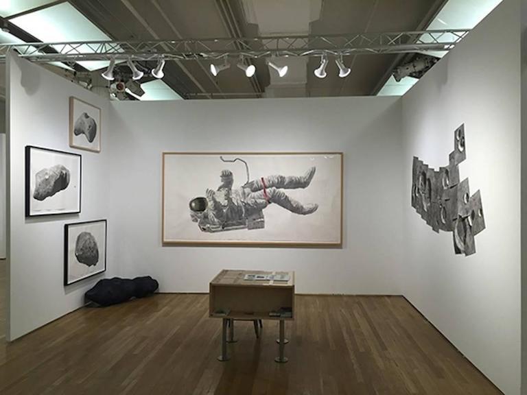 Spaceman - Painting by Thomas Broadbent