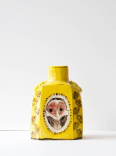Pende Mask & Red Bird Caddy