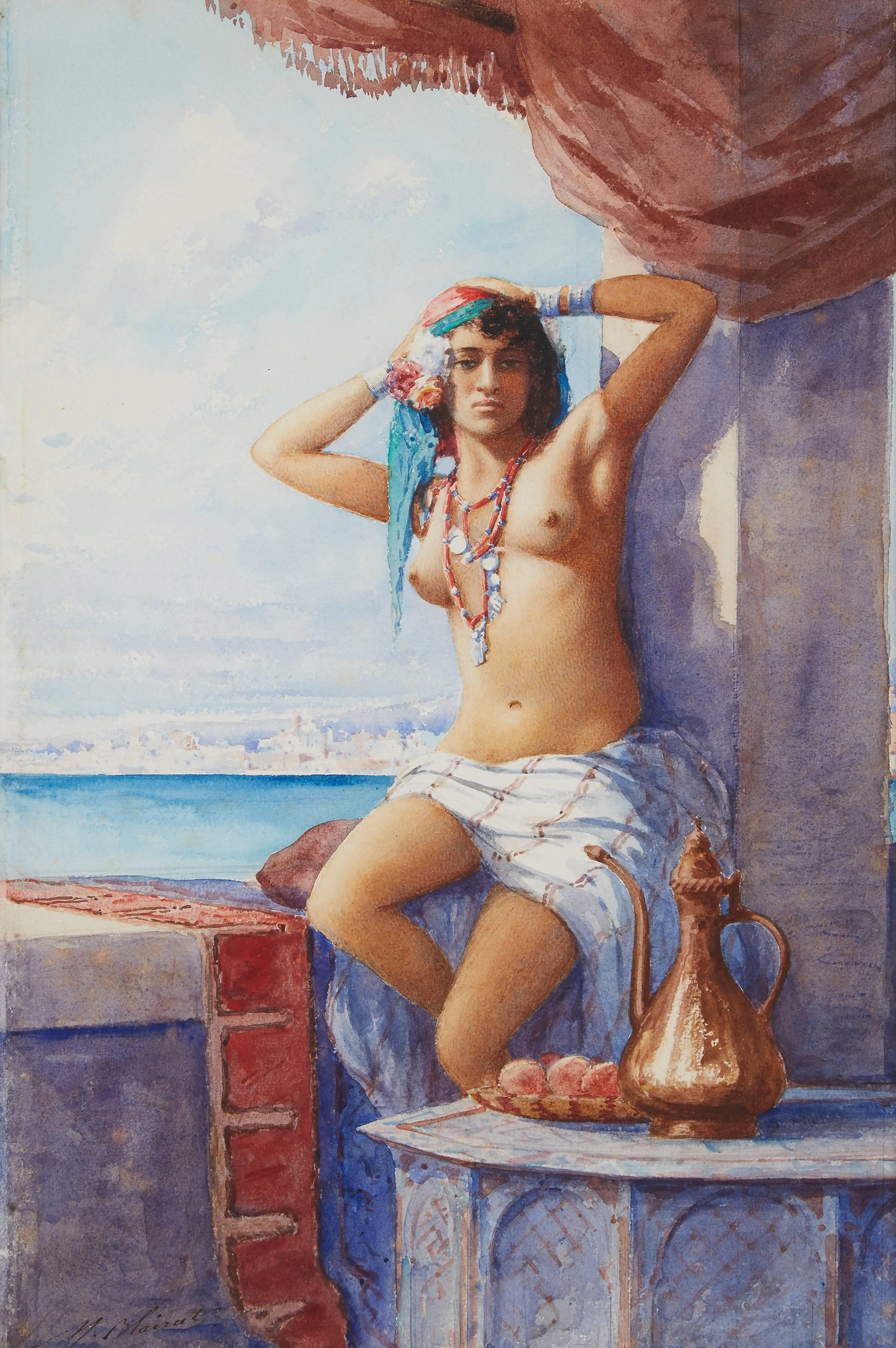 Odalisque on the Terrace