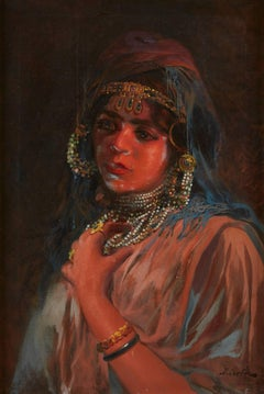Portrait of an Exotic Woman