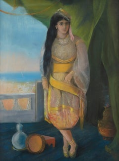 Odalisque in a Landscape