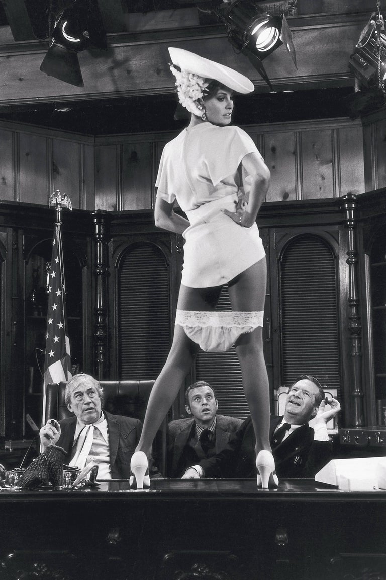 Terry O Neill Co Signed Raquel Welch On Bar Top