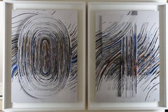 """""""01 Scape / 008_0 and 008_1"""" A pair of fine prints, edition 1/5 (AP 2)"""