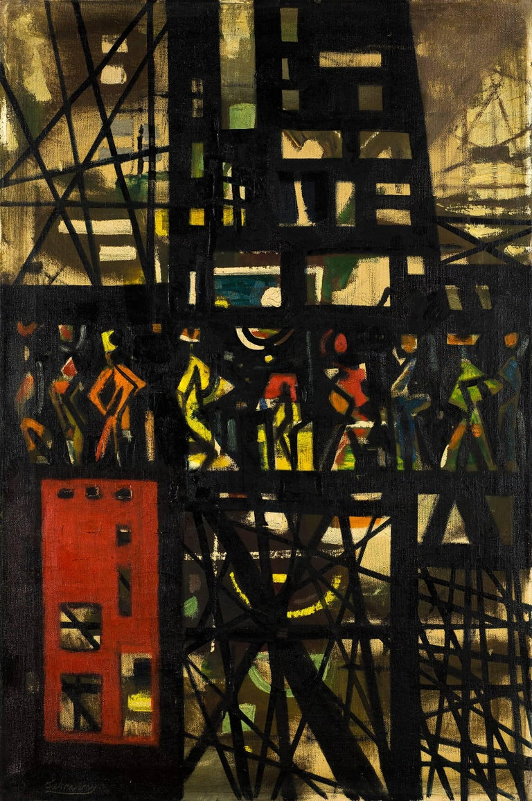 Untitled (City Abstraction)