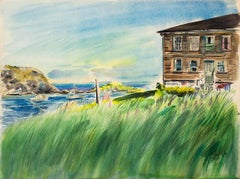 A Harbor View (Monhegan Island)