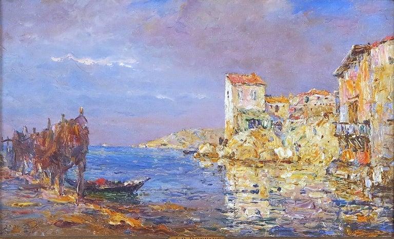 Jean-Baptiste Duffaud Landscape Painting - St. Tropez