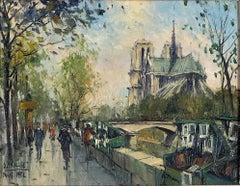 Les Bouquinistes de la Rive Gauche, Notre-Dame, Paris