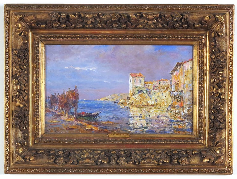 St. Tropez - Painting by Jean-Baptiste Duffaud