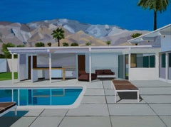 PALM SPRINGS, UNDER THE MOUNTAINS