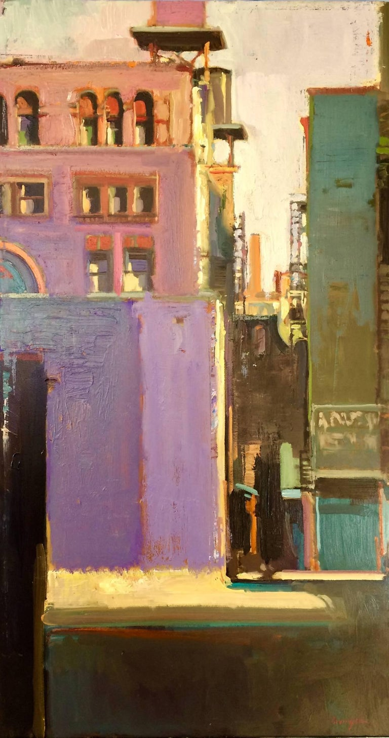 Francis Livingston Painting - DEEP ALLEY