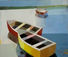 BOATS IN SHALLOW WATER #19