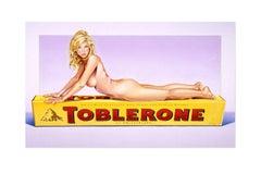 Mel Ramos - Toblerone Tess