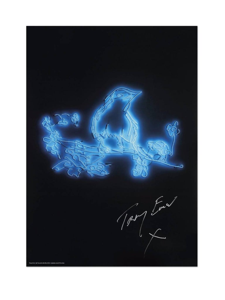 Tracey Emin Abstract Print - My Favourite Little Bird