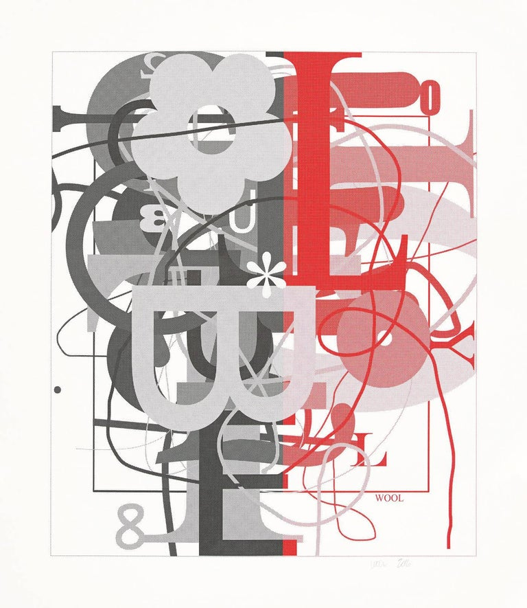 Christopher Wool Abstract Print - Untitled