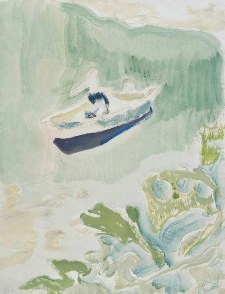 Peter Doig Landscape Print - Cyril's Bay