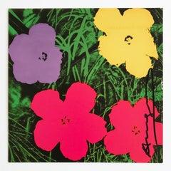 Flowers (Galerie Sonnabend Invitation)
