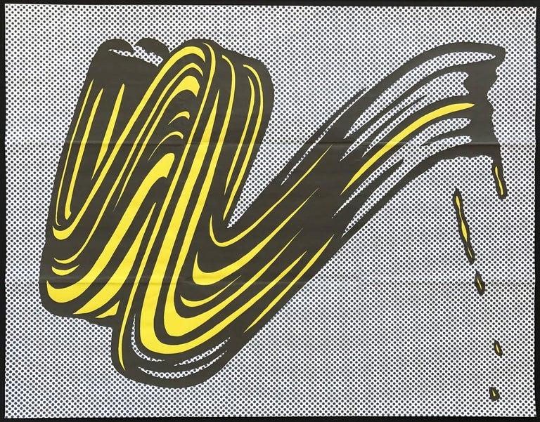 Brushstroke (Leo Castelli Gallery Invitation)