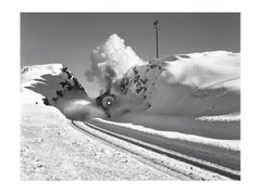 Southern Pacific Engine, Donner Pass, California, 1949