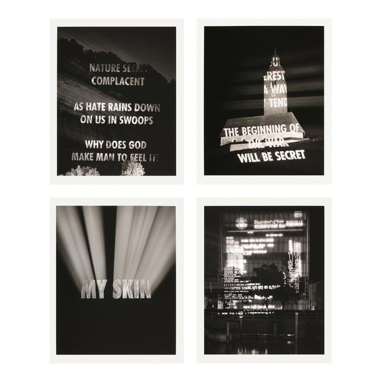 Jenny Holzer Figurative Print - Truth Before Power